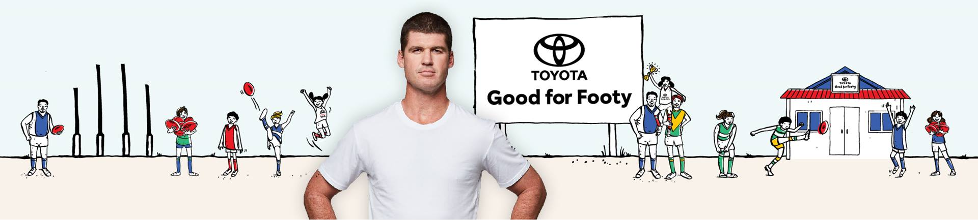 Toyota Good for Footy Raffle